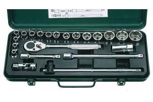 Įrankių kompl. 1/2`` (22vnt) HANS (4622M)