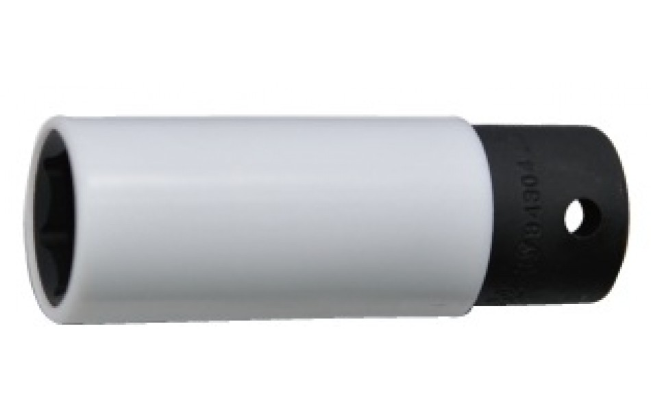 """1/2"""" smūginės plonasienės galvutės, dengtos plastiku HANS (84304P)"""