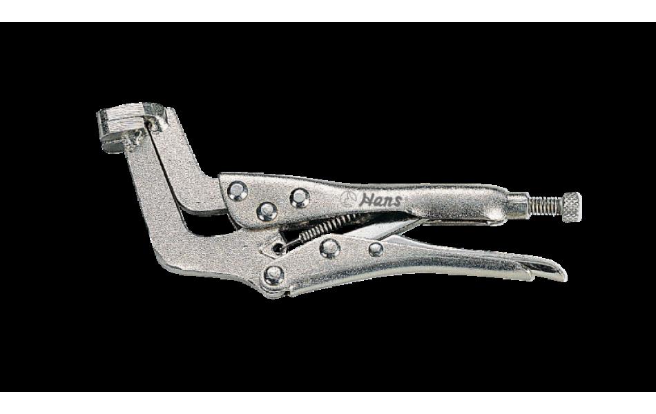 Replės fiksacinės, spaustuvo tipo, 160mm HANS (1809-06)