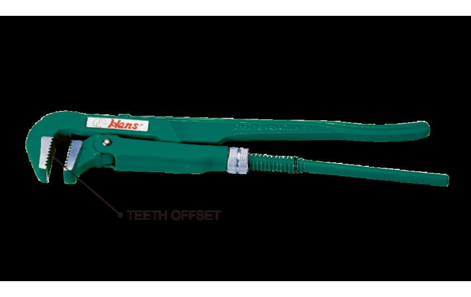 Raktas santechninis 1-1/2``-90` L-420mm HANS (1895-16)
