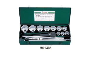 Įrankių kompl. 1`` (14vnt) HANS (8614M)