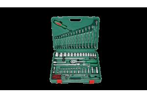 Įrankių kompl. 1/4`- 1/2` (100vnt) HANS (TK-100)