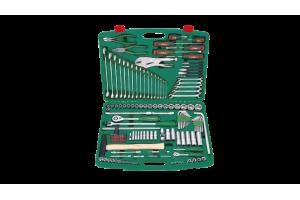 Įrankių kompl. 1/4`- 1/2` (158vnt) HANS (TK-158V)