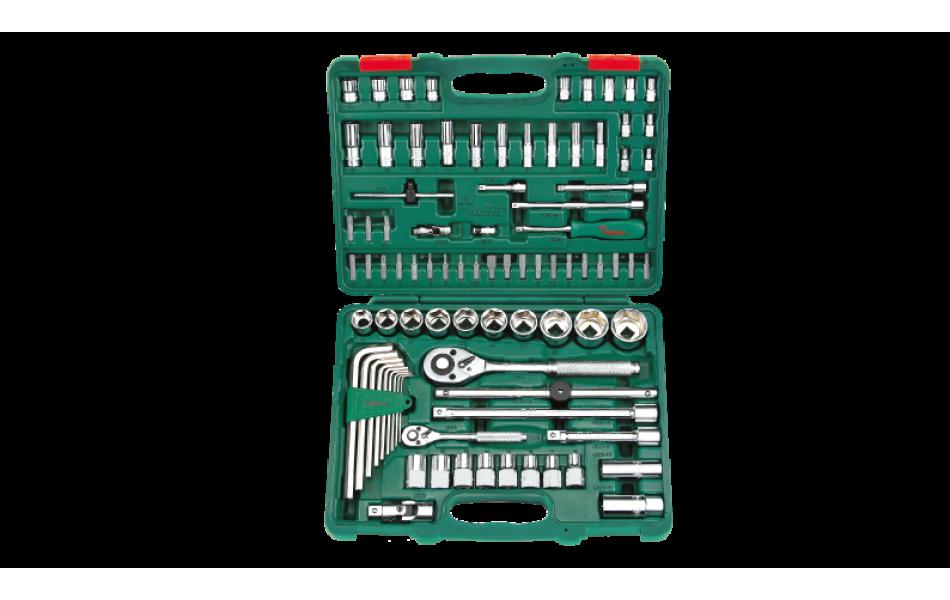 Įrankių kompl. 1/4`- 1/2` (88vnt) HANS (TK-88)